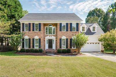 Greensboro Single Family Home For Sale: 5504 Harbor Gate Court