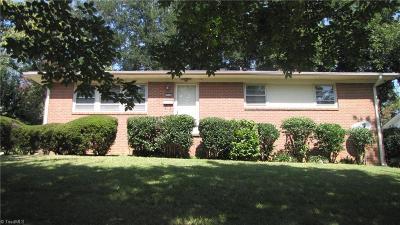 Greensboro Single Family Home For Sale: 1910 Elkhart Drive