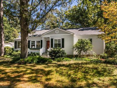 Greensboro Single Family Home For Sale: 1008 Pamlico Drive
