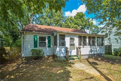 Winston Salem Single Family Home For Sale: 519 24 1/2 Street