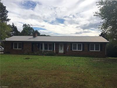 Single Family Home For Sale: 2077 Wright Road