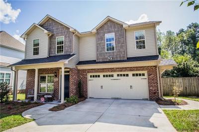 Winston Salem Single Family Home For Sale: 5486 Alamo Drive