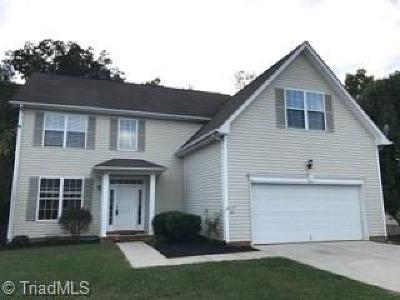 Greensboro Single Family Home For Sale: 4513 Camden Ridge Drive