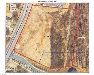 Randleman Residential Lots & Land For Sale: Main Street S