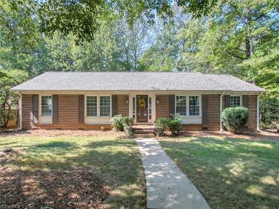 Greensboro Single Family Home For Sale: 4021 Ridgedale Drive
