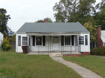 Greensboro NC Single Family Home For Sale: $34,500