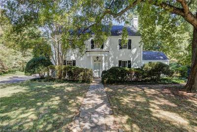 High Point Single Family Home For Sale: 400 Hillcrest Drive
