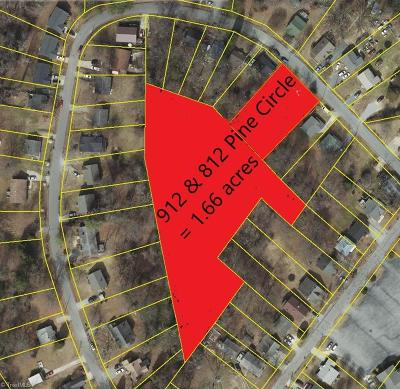 High Point Residential Lots & Land For Sale: 912 Pine Circle Drive