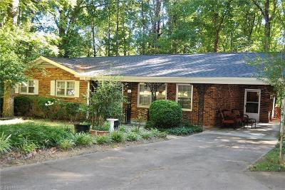 Reidsville Single Family Home For Sale: 242 Regency Drive