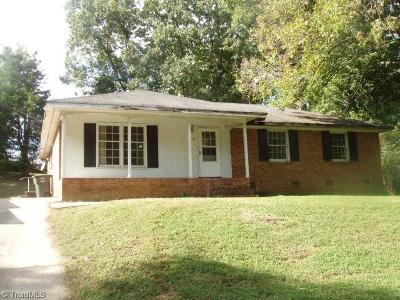 Greensboro NC Single Family Home For Sale: $97,800