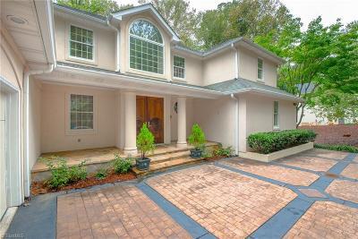 Winston Salem Single Family Home For Sale: 1850 Greenbrier Road