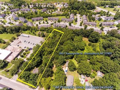 Guilford County Commercial Lots & Land For Sale: 3917 Yanceyville Street