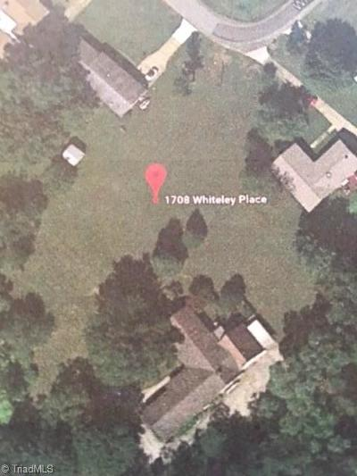 Greensboro Residential Lots & Land For Sale: 1708 Whiteley Place