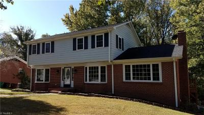 High Point NC Single Family Home For Sale: $264,900