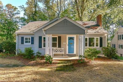Winston Salem Single Family Home For Sale: 1711 Meadowbrook Drive