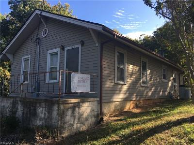 Asheboro Commercial For Sale: 528 White Oak Street