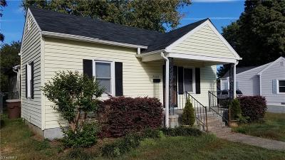 Greensboro Single Family Home For Sale: 2509 Yanceyville Street