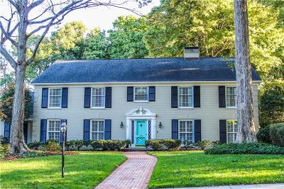Greensboro Single Family Home For Sale: 2912 Saint Regis Road