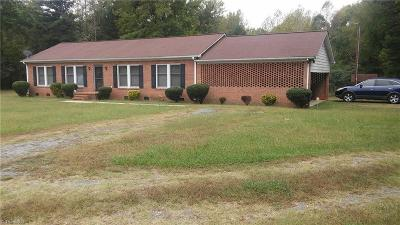 Gibsonville Single Family Home For Sale: 510 Three Cedars Lane