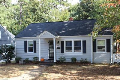 Greensboro Single Family Home For Sale: 1602 Matthews Street