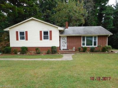 Winston Salem NC Single Family Home For Sale: $119,900