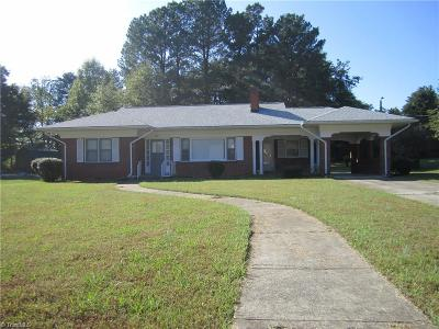 Reidsville Single Family Home For Sale: 1320 McGehee Street