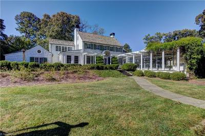 Single Family Home For Sale: 1701 Reynolda Road