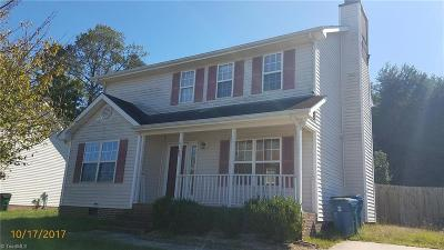 Greensboro NC Single Family Home For Sale: $129,900