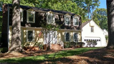 Greensboro Single Family Home For Sale: 1502 Fox Hollow Road