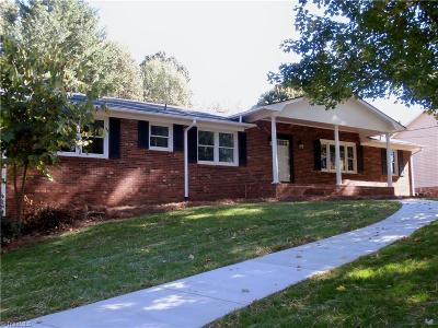 Kernersville Single Family Home For Sale: 1165 Quail Hollow Road