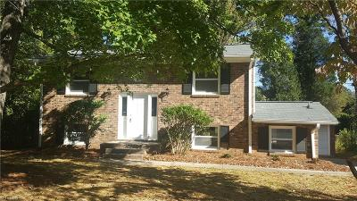 Greensboro Single Family Home For Sale: 2216 Rheims Drive