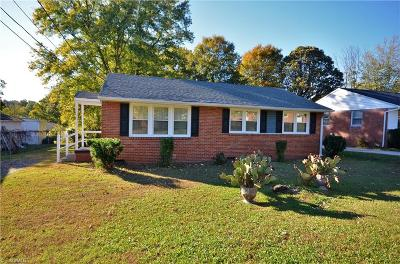 Greensboro Single Family Home For Sale: 1604 Quincy Street