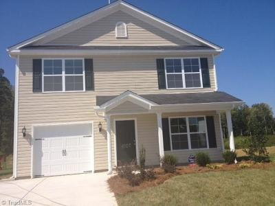 Reidsville Single Family Home For Sale: 404 Carter Ridge Drive #Lot 46