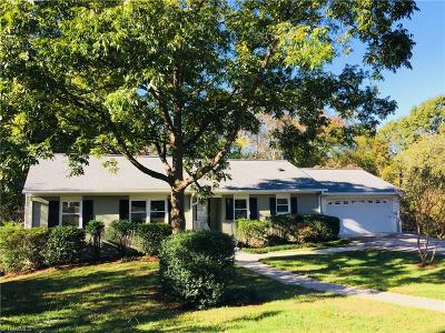 Greensboro Single Family Home For Sale: 5617 Tower Road