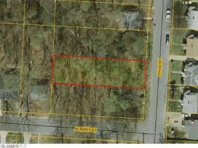 Greensboro Residential Lots & Land For Sale: 403 Shaw Street