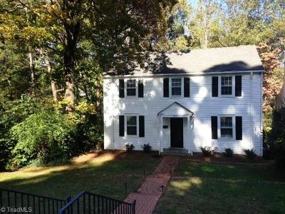 Winston Salem Single Family Home For Sale: 1818 Meadowbrook Drive