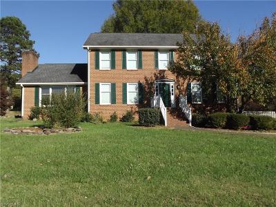 Pfafftown Single Family Home For Sale: 3425 Dixiana Lane