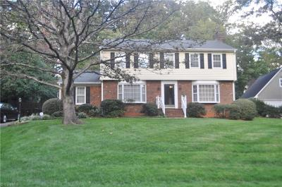 Greensboro Single Family Home For Sale: 4102 Cascade Drive