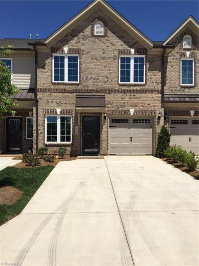 High Point Condo/Townhouse For Sale: 809 Piedmont Crossing Drive #Lot 162