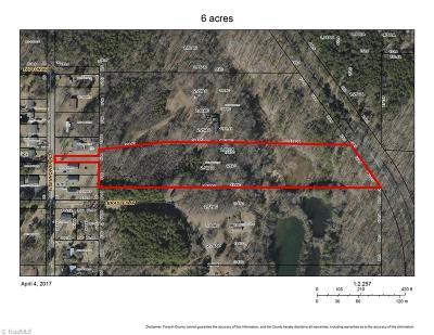 Winston Salem Residential Lots & Land For Sale: Eisenhower Road