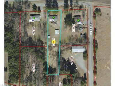Alamance County Commercial Lots & Land For Sale: 3192 Inge Road