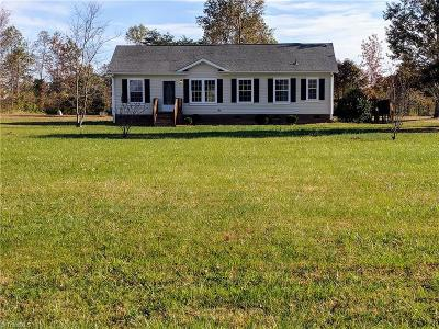 Caswell County Single Family Home For Sale: 257 Butler Lake Road