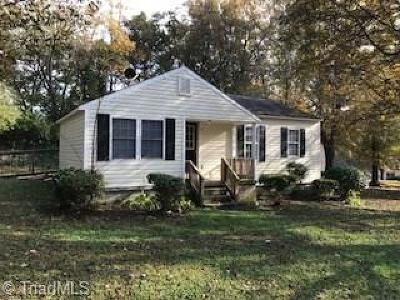 Reidsville Single Family Home For Sale: 17 Circle Drive