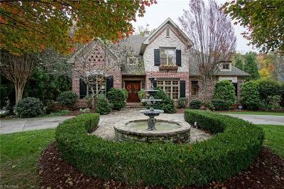 Winston Salem Single Family Home For Sale: 3748 Burbank Lane