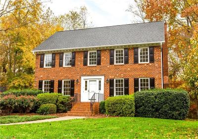 Winston Salem Single Family Home For Sale: 404 Wind Haven Lane