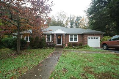 Reidsville Single Family Home For Sale: 407 Pinedale Drive
