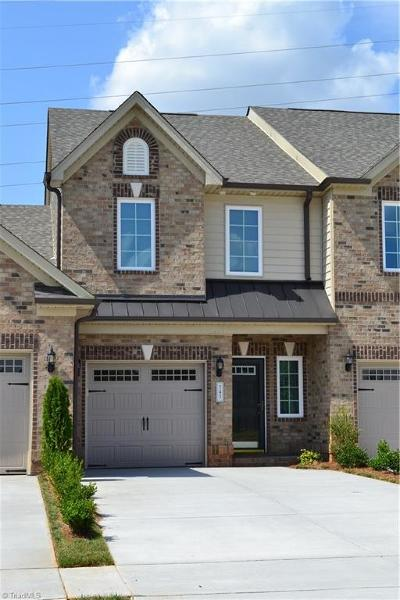 High Point Condo/Townhouse For Sale: 3539 Timbergate Lane #Lot 167