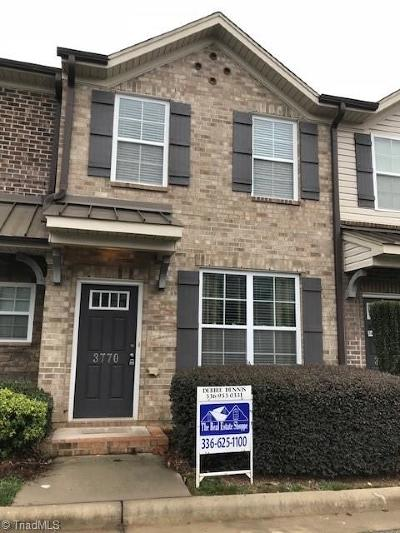 High Point Condo/Townhouse For Sale: 3770 Shadow Ridge Drive