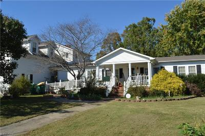 Stoneville Single Family Home For Sale: 509 N Glenn Street