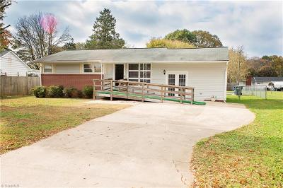Rockingham County Single Family Home For Sale: 306 8th Avenue